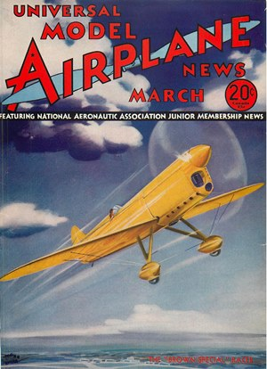 Model Airplane News March 1935