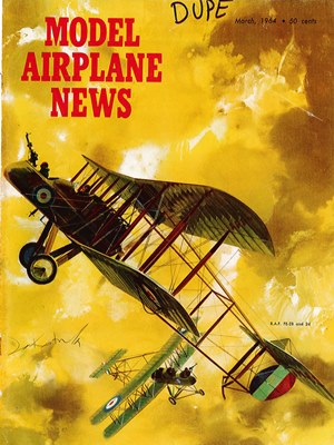 Model Airplane News March 1964