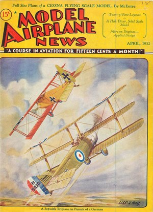 Model Airplane News April 1932