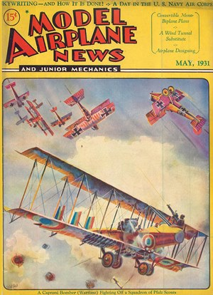Model Airplane News May 1931
