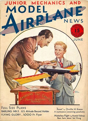 Model Airplane News June 1930