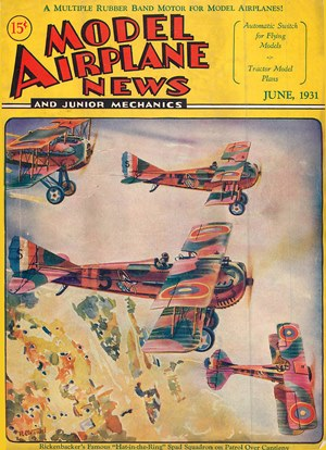 Model Airplane News June 1931