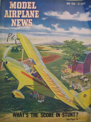 Model Airplane News June 1950