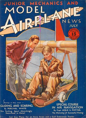 Model Airplane News July 1930