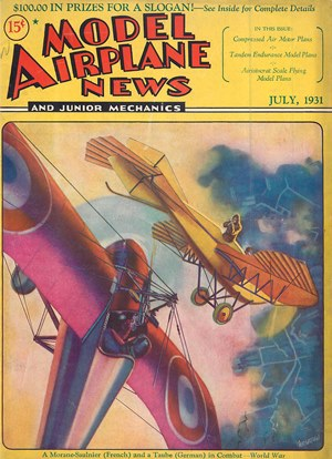 Model Airplane News July 1931