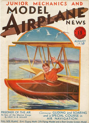 Model Airplane News August 1930