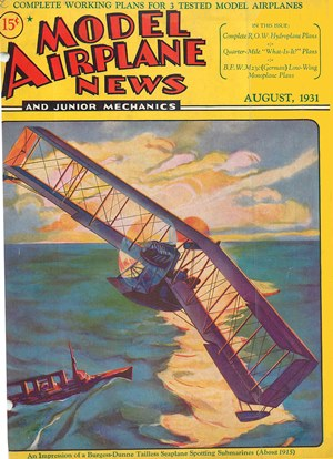 Model Airplane News August 1931