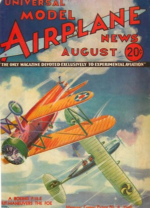 Model Airplane News August 1933