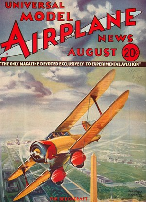 Model Airplane News August 1934