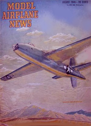 Model Airplane News August 1946