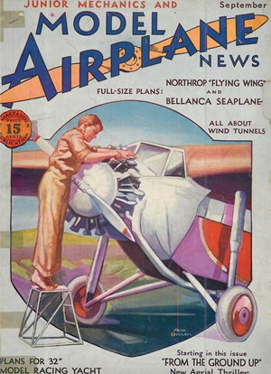 Model Airplane News September 1930