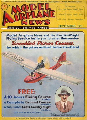 Model Airplane News September 1931