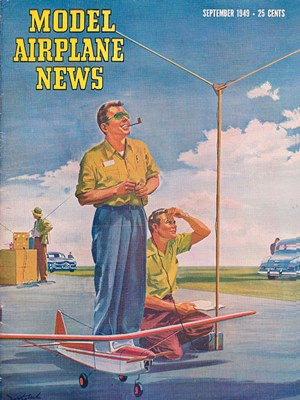 Model Airplane News September 1949