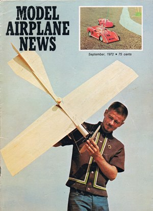 Model Airplane News September 1972