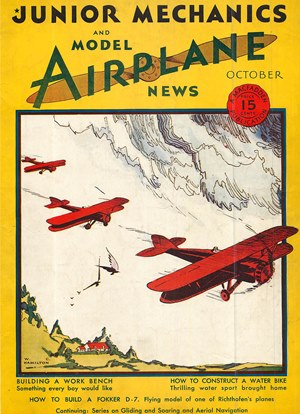 Model Airplane News October 1930