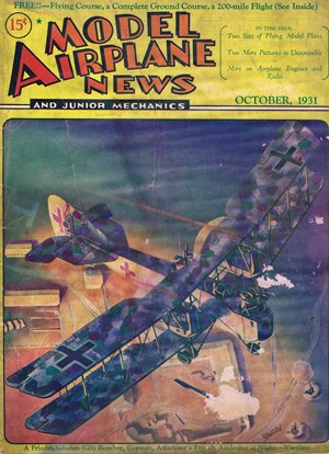 Model Airplane News October 1931