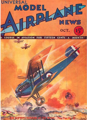 Model Airplane News October 1932