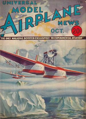 Model Airplane News October 1933