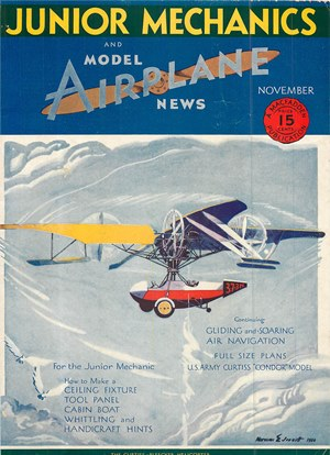 Model Airplane News November 1930