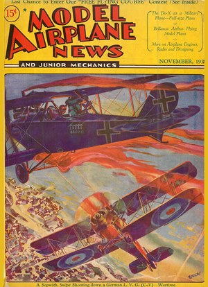 Model Airplane News November 1931