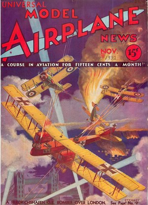 Model Airplane News November 1932