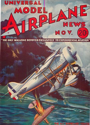 Model Airplane News November 1933