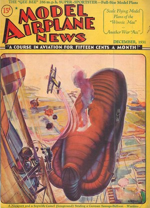 Model Airplane News December 1931