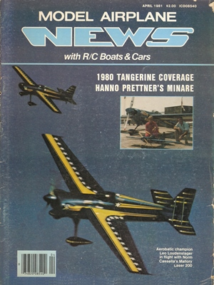 Model Airplane News April 1981
