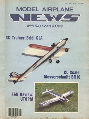 Model Airplane News July 1980