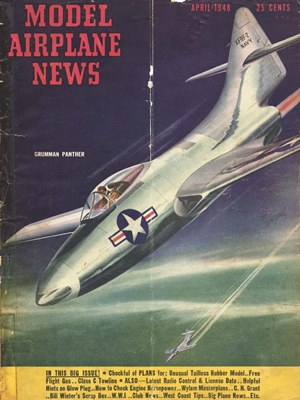 Model Airplane News April 1948