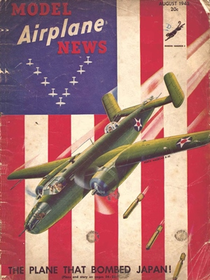 Model Airplane News August 1942