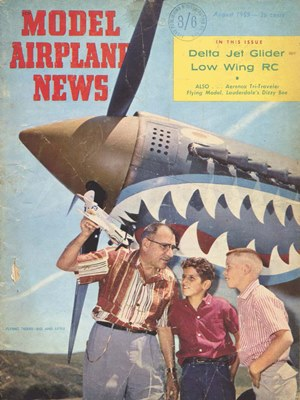 Model Airplane News August 1959