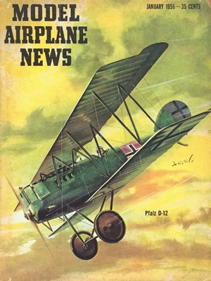 Model Airplane News January 1956