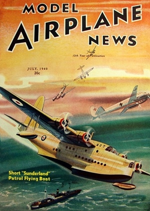 Model Airplane News July 1940