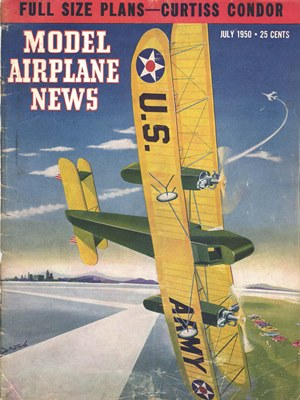 Model Airplane News July 1950