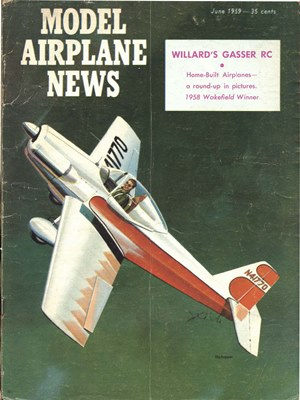 Model Airplane News June 1959