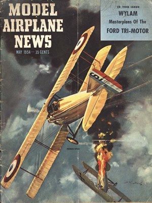 Model Airplane News May 1954