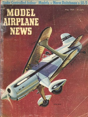 Model Airplane News May 1959
