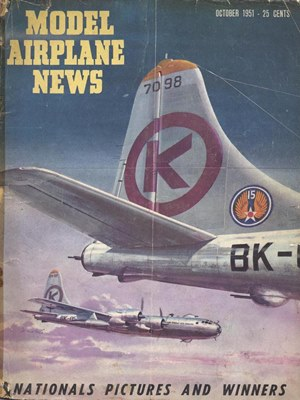 Model Airplane News October 1951