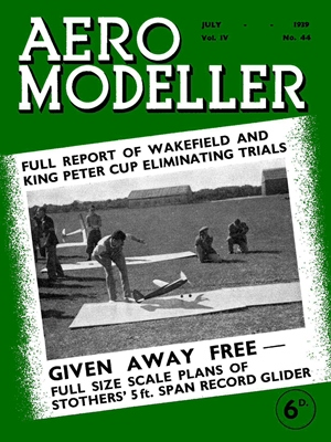 AeroModeller July 1939
